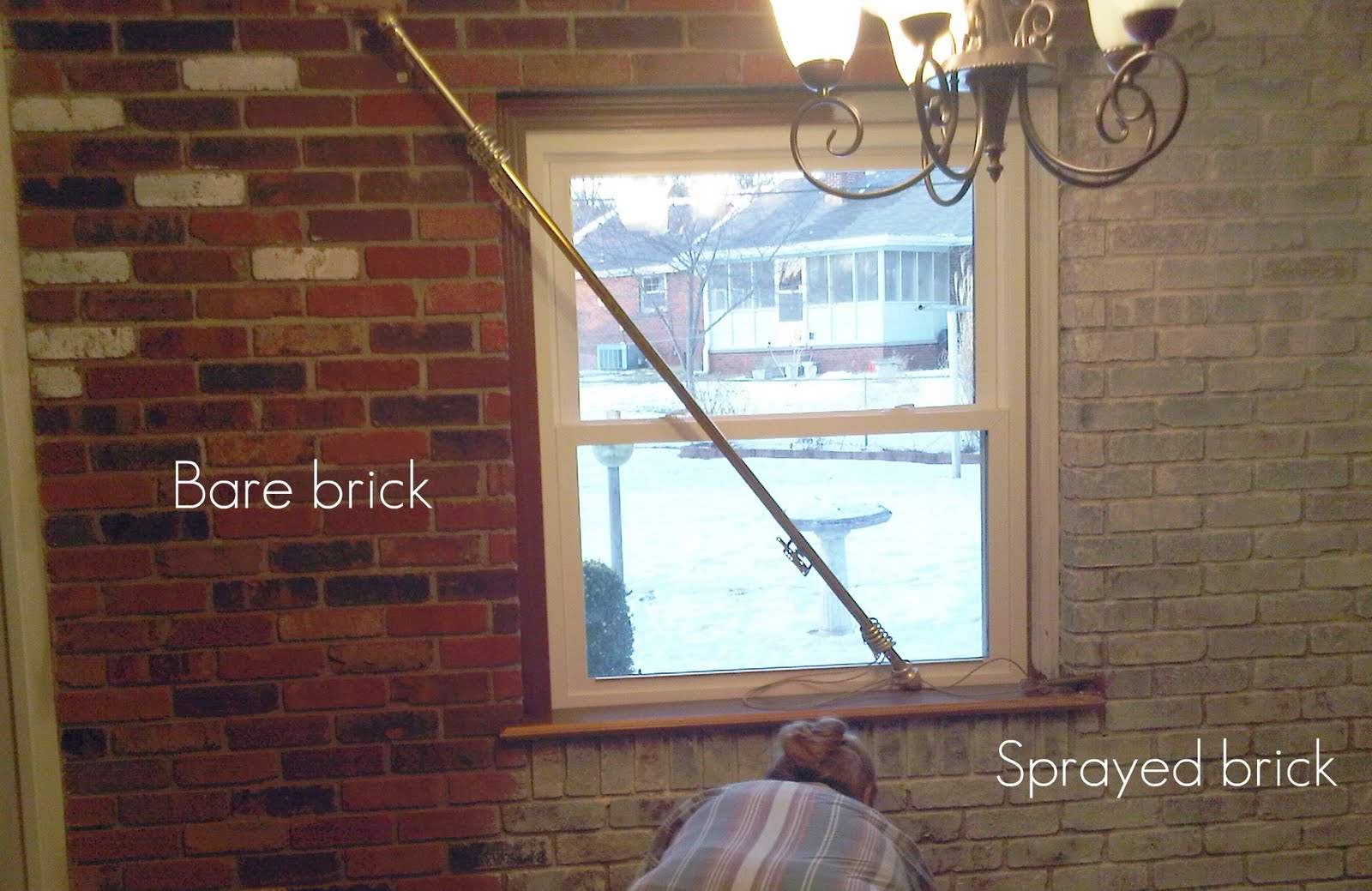Peachy Painting Bricks Is Easy The Girl Creative Largest Home Design Picture Inspirations Pitcheantrous