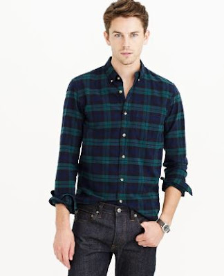Contoh desain kemeja baju batik pria terbaru