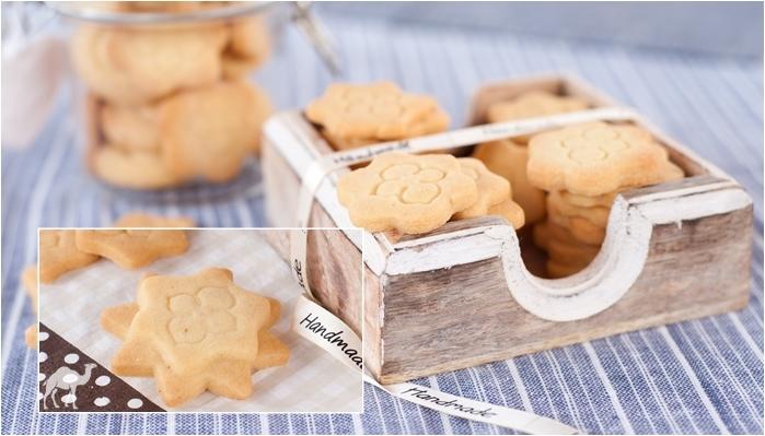 Maślane ciasteczka z syropem klonowym
