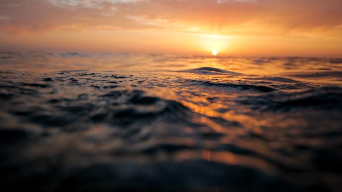 Wallpaper: Sunset from Ocean