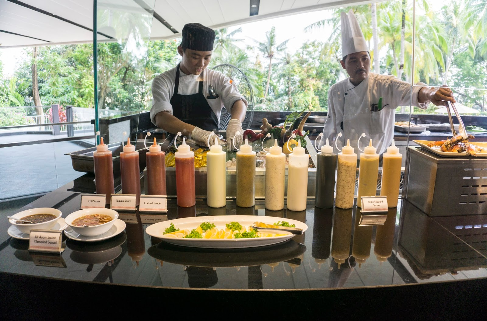 Seafood Dilight Dinner Buffet Nada Lama Equotorial Hotel Penang