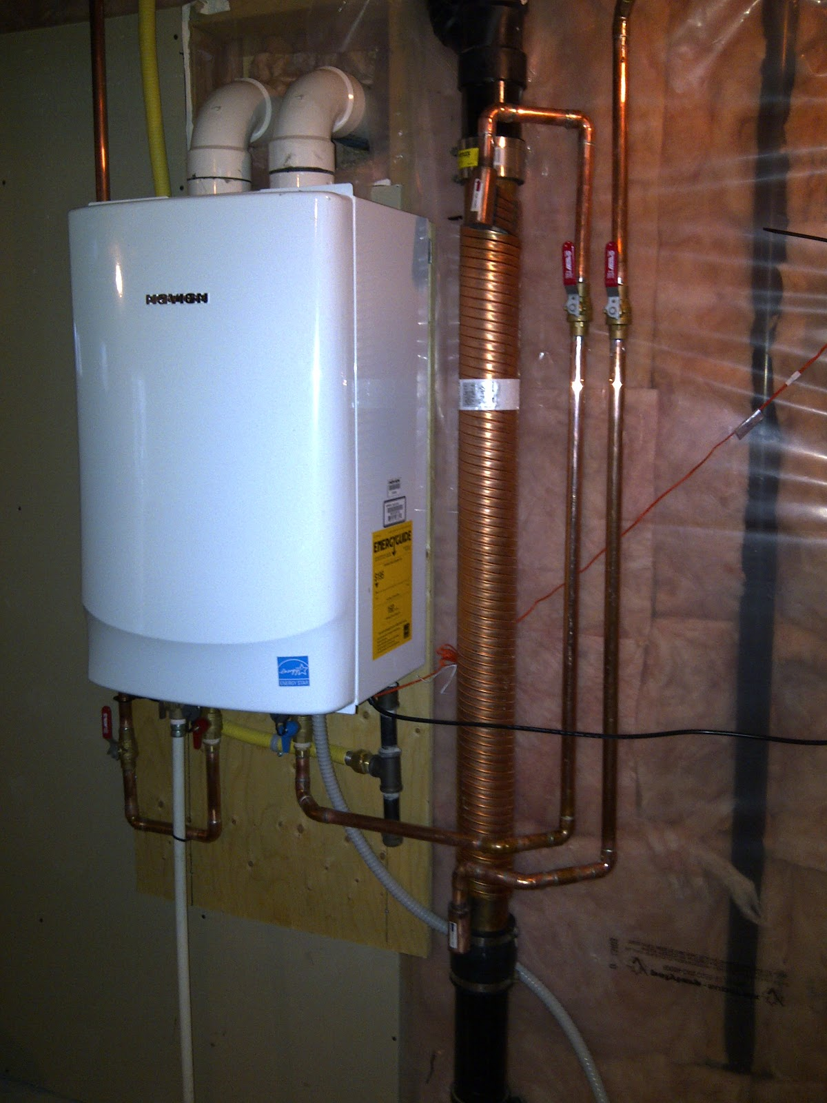 Navien inc. Youtube. How does it paintings? Navien's condensing tankless  water heaters. Get the most important bang for your buck.
