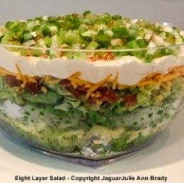 Eight Layer Salad by jaguarjulie