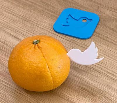 Twitter Orange Peeler