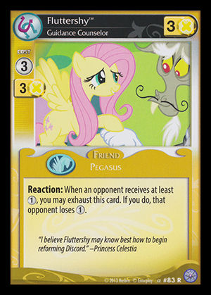 Party Clasher 78R X 3 Discord My Little Pony MLP CCG HIGH MAGIC
