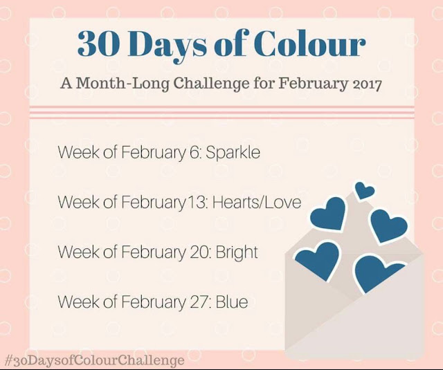 30 Days Of Colour February 2017