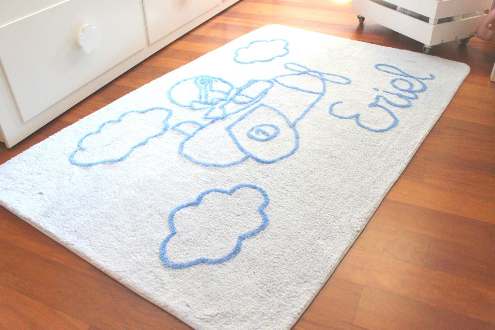 Alfombras infantiles personalizadas con nombre decoraci n infantil personalizadadecoracion - Alfombras infantiles lavables ...