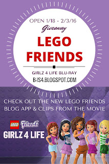 LEGO Friends Giveaway Movie