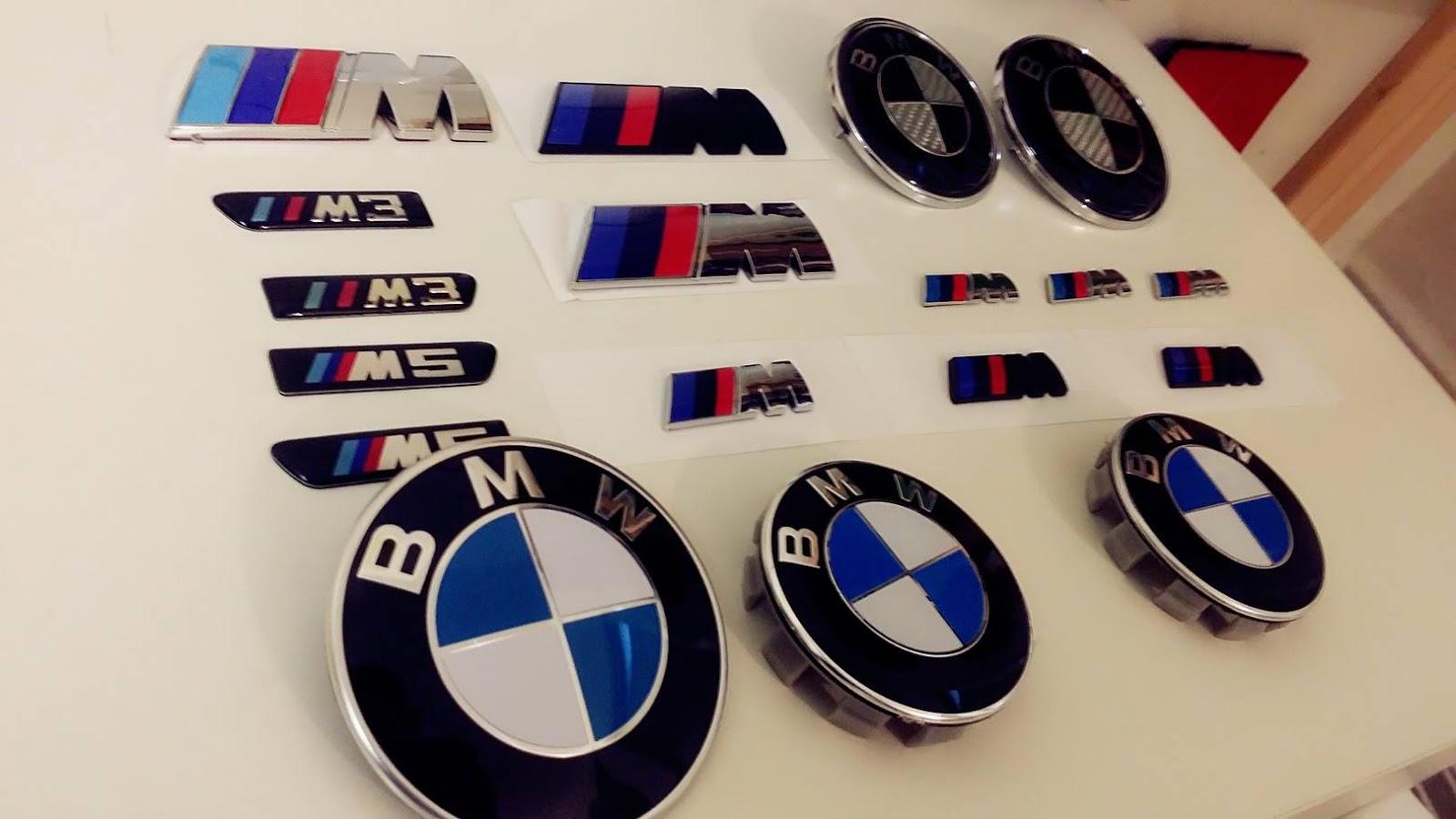 Horch Motorsports Bmw M Sport Tri Color Emblem Logo Badge M Tech Bmw