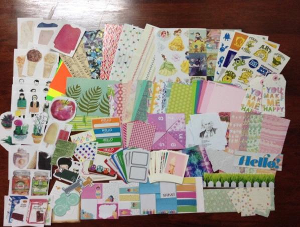 League Of Extraordinary Penpals: Mail Art Supply Swap