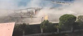 Κατέρρευσε στέγαστρο στο παλιό λιμάνι της Πάτρας-Ένας νεκρό (photos+video) c8fb69131b5