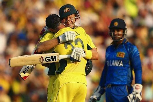Australia vs Srilanka ICC Cricket World Cup 2015 8 Mar