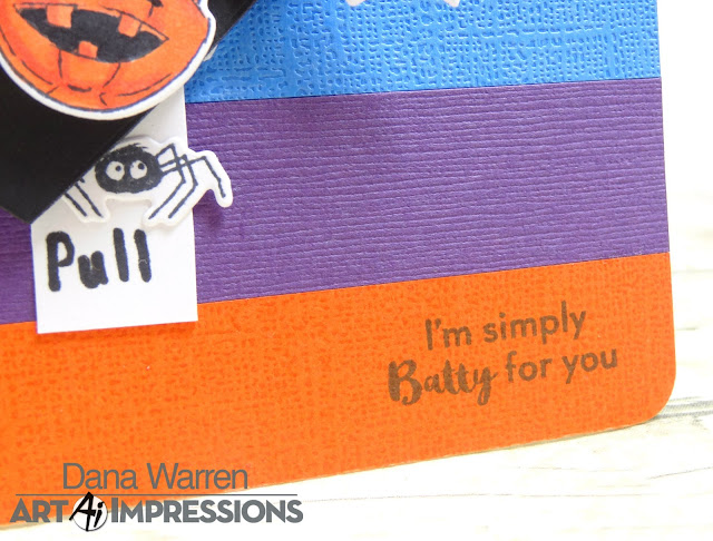 Dana Warren - Kraft Paper Stamps - Art Impressions - Interactive Halloween
