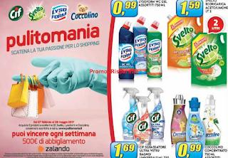 Logo Concorso ''Pulitomania'': vinci buoni Zalando da 500 euro