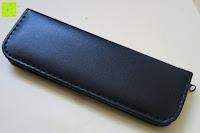 Etui hinten: Kovira Professionell 15cm Glasnagelfeilen Set mit Etui – 5 Premium Luxus Kristall Feilen für langanhaltende Maniküre und Pediküre