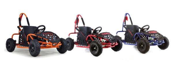 FunBikes Funkart Kids Mini Go Karts