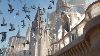 Fantasy, Girl, Castle, Ghostblade, 4K, #4.3084