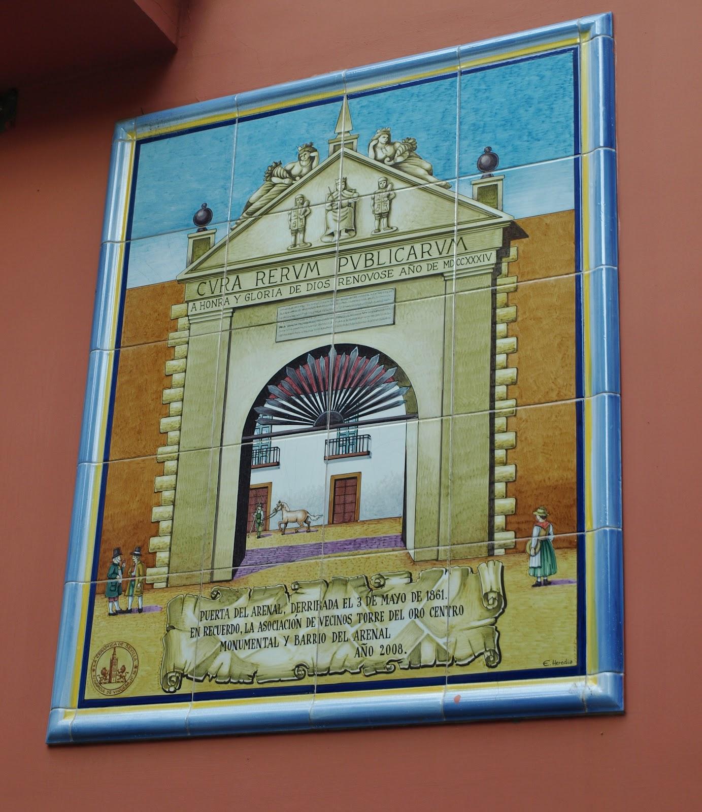 Zarabanda caf pregunta 3 de mayo paseando por sevilla for Puerta 7 campo de mayo