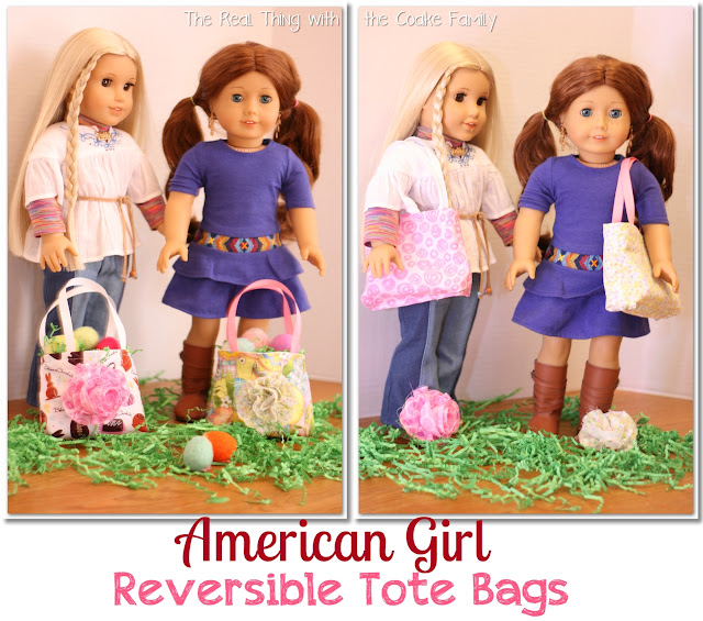 18 Sewing Patterns and Tutorials. #Sewing #Pattern #AmericanGirl #HomeDecor #Organzing #RealCoake