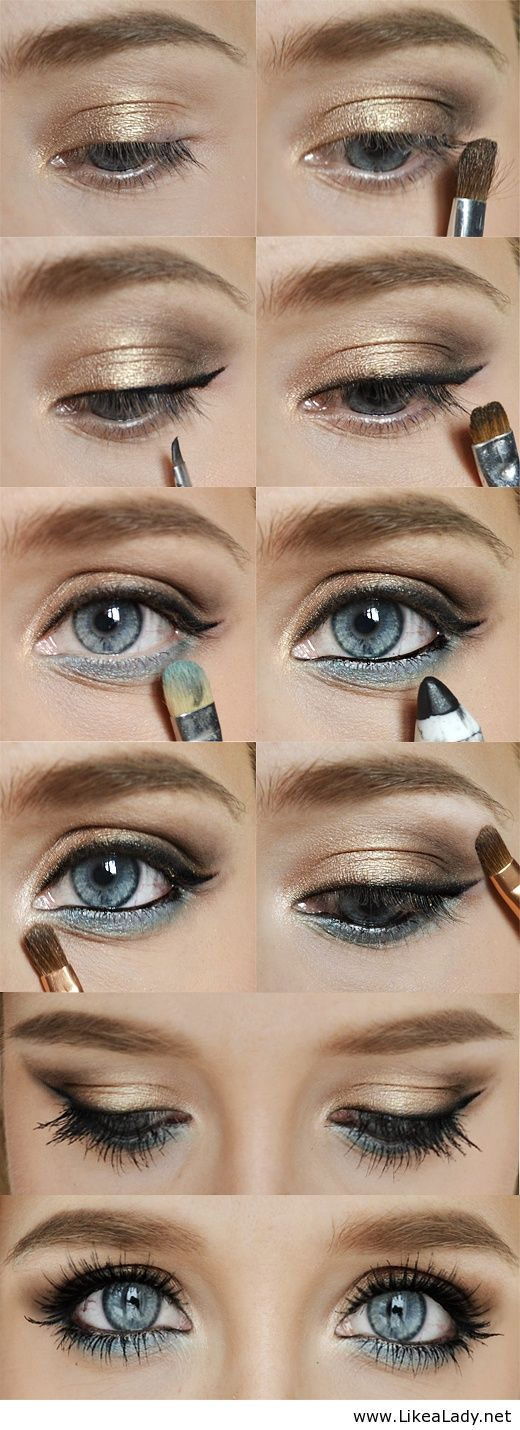 Easy Makeup Tutorials For Blue Eyes Phyle Style