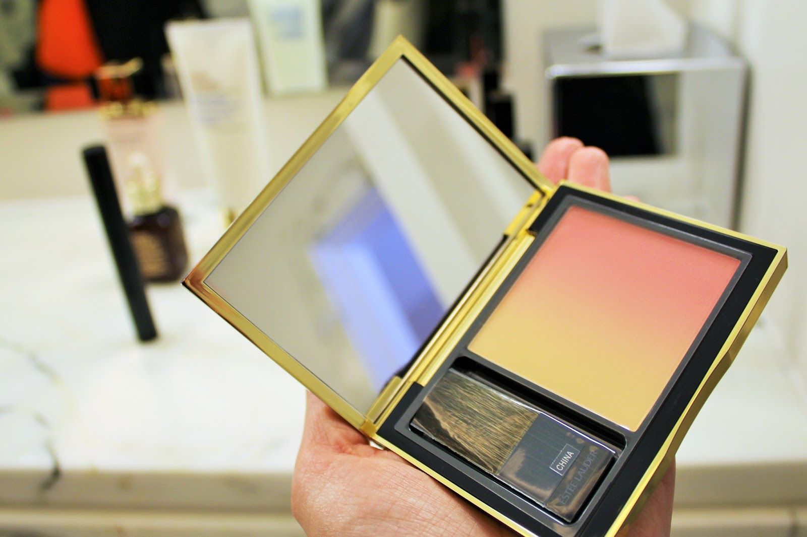 Debenhams Beauty Press Day - SS16 21 - Estee Lauder Pure Color Envy Sculpting Blush in Witty Peach