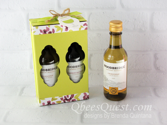 Mini Wine Bottles Make Great Gifts A 4pack Costs Less That 10 In The Us And When You Package Them Up Either Double Or Single Slider Boxes