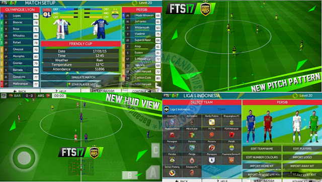 FTS 2017 Apk Pro Edition Data Mod Android
