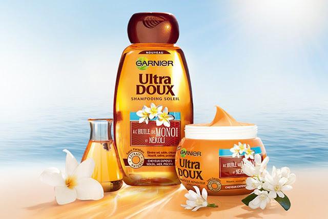 Shampooing Soleil à l'Huile de Monoï et Néroli Ultra Doux au Monoi et Néroli - Garnier