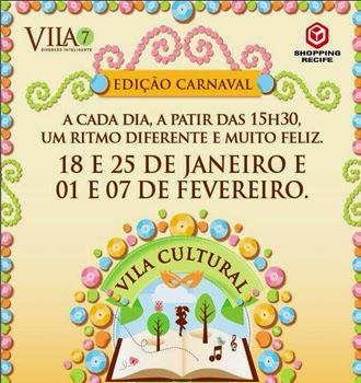 Prévias Carnaval para crianças em Recife