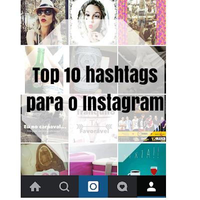 top 10 hashtags para instagram