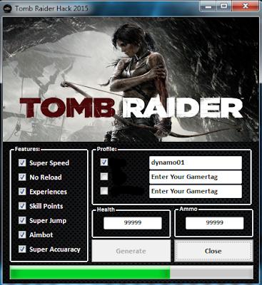 Tomb Raider i 2015 hack