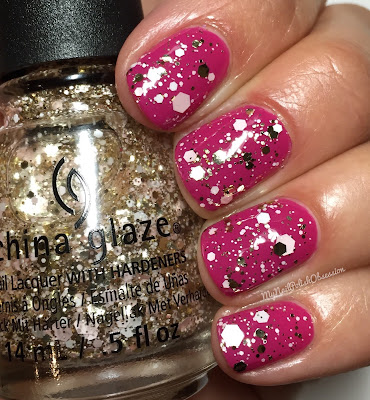 China Glaze House Of Colour, Spring 2016; Glitter Me This...