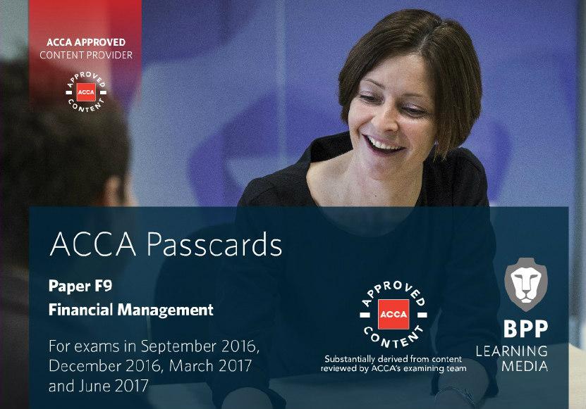 ACCA BPP F9 PASSCARD 2016-2017 - Click For English