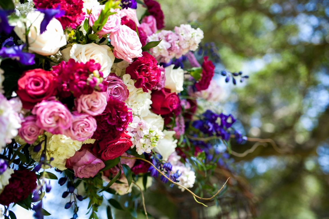 Floral Occasions by Janna Hatch: Milagro Winery Wedding Flowers