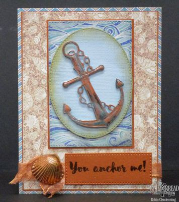 Our Daily Bread Designs You Anchor Me Stamp Die Duo