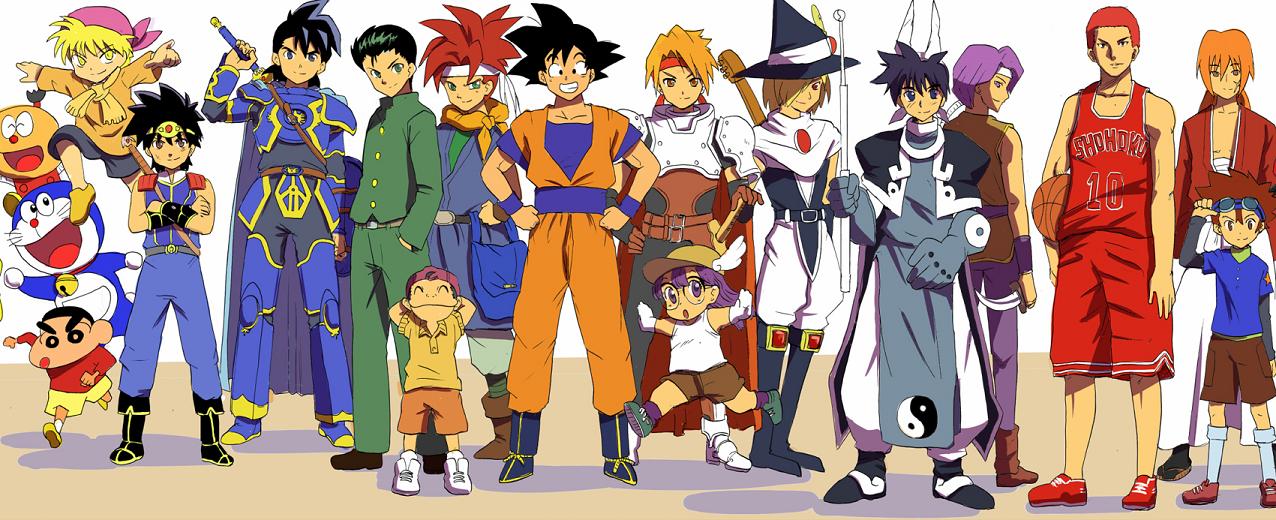 Resultado de imagem para animes anos 90