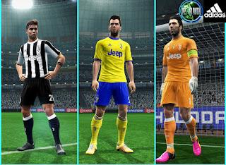 PES 2013 - Juventus kit 2017-18  By Mustafa Issa