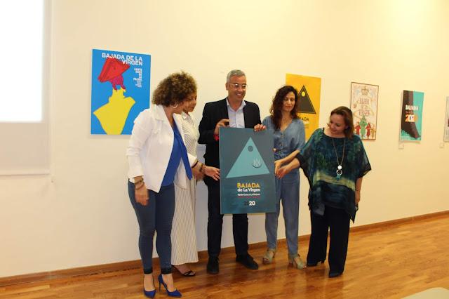 Aroa González Martín, ganadora del Concurso Internacional del Cartel de la Bajada de la Virgen