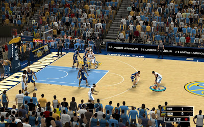 NBA 2K13 Denver Nuggets Court Patch Update