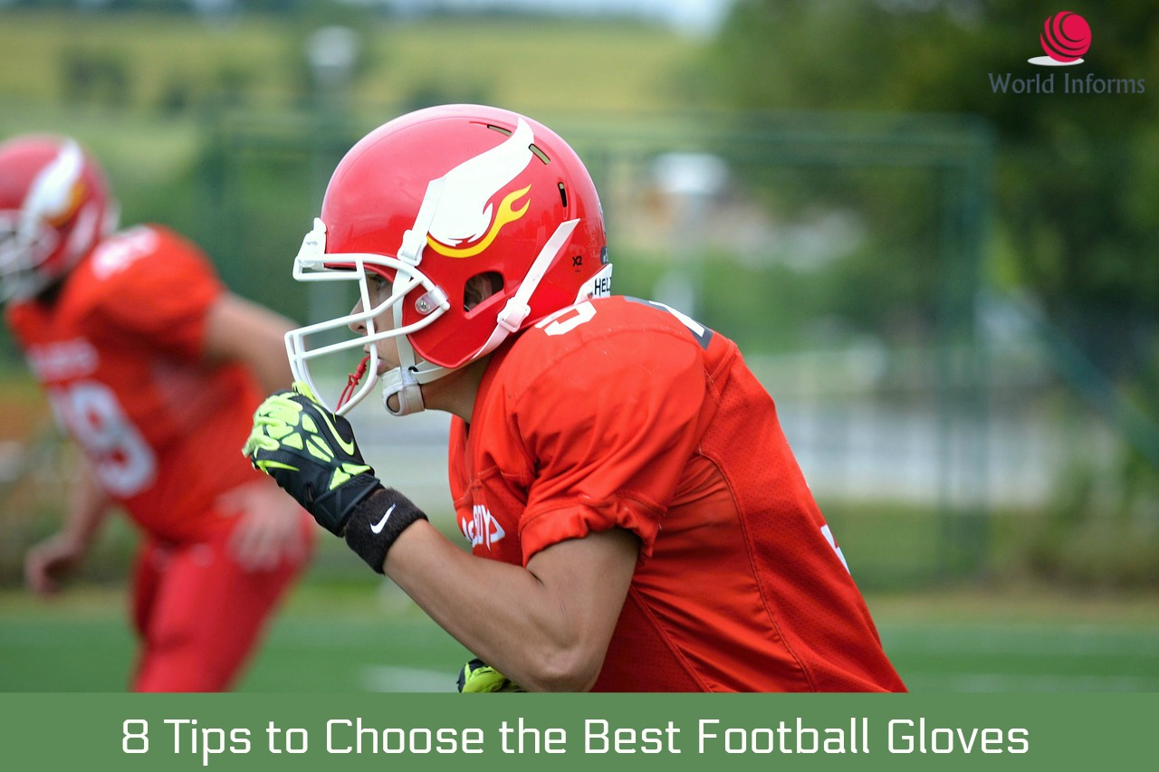 779b7a2400f Choose the Best Football Gloves for Linebackers - World Informs