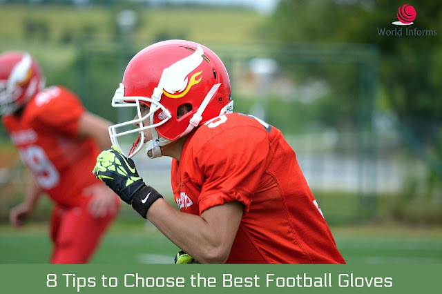 Choose the Best Football Gloves for Linebackers