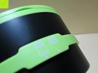 Bedienung: OUTAD 2-in-1 Outdoor Wireless Bluetooth Lautsprecher & LED Lampe mit eingebautem Mikrofon, einstellbarem Licht und Broadcom 3.0
