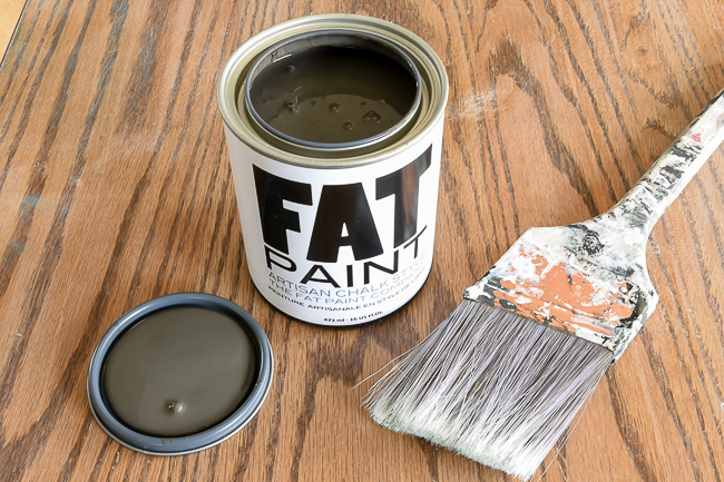 Fat paint for White Clad side table