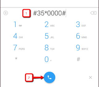 enable unwanted call