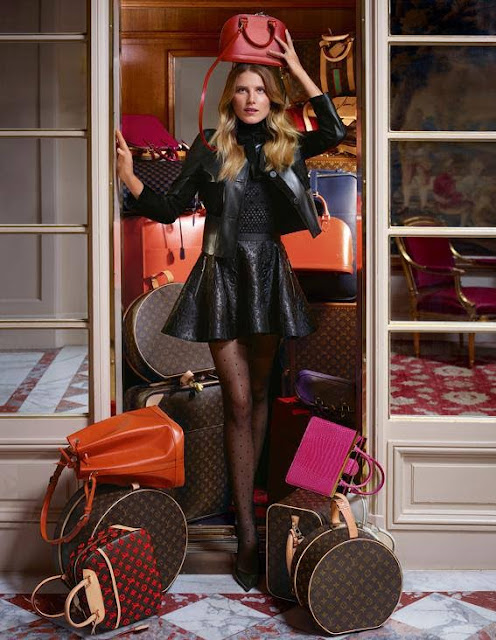 Dree Hemingway Is the Face of Louis Vuitton's Fall/Winter 2013 Shoe Collection