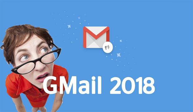 كيفية الحصول على التصميم الجديد للجيمايل 2018 GMail