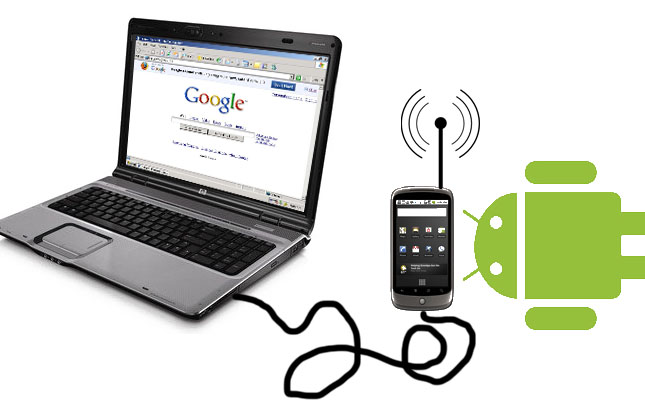 How to:Share PC internet connection with ANDROID mobile ...