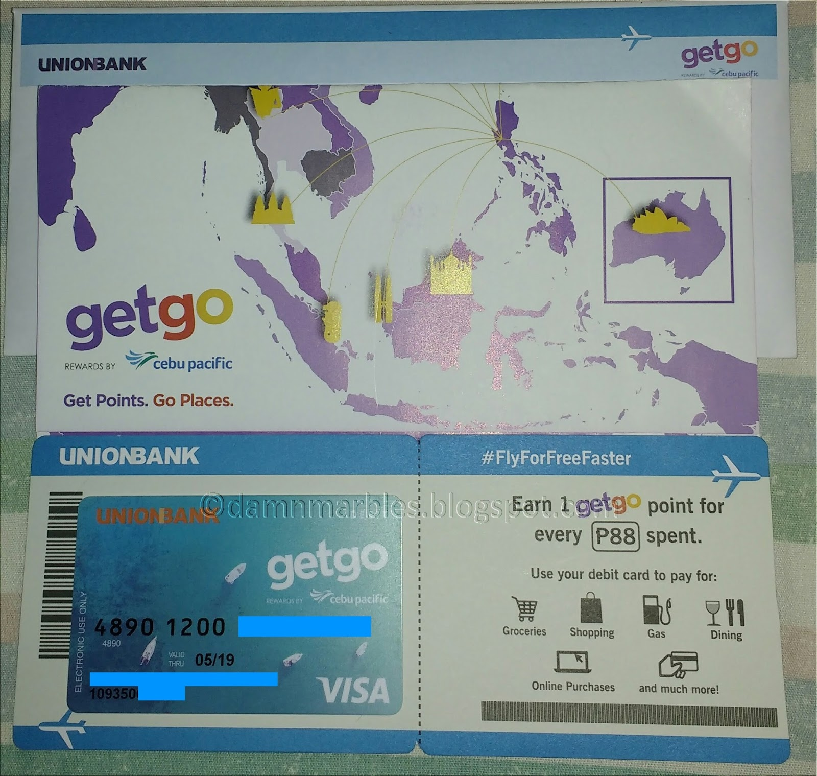 how to apply for the cebu pacific getgo debit card from unionbank flyforfree - Get A Prepaid Card