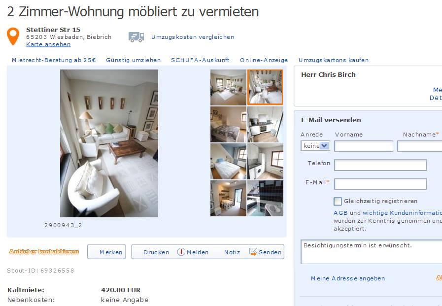 Wohnung In Freiburg Zu Vermieten