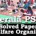 Kerala PSC - Welfare Organiser, Online Examination Solved Paper held on 10 Mar 2016